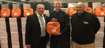 UK Border Force chooses SP  to supply AED's
