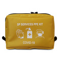 SP Services PPE Covid-19 Empty Pouch - Yellow